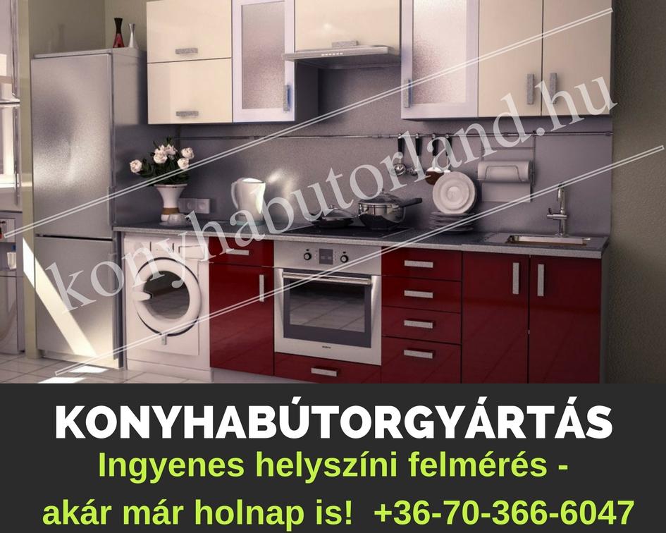 Konyhabútor helyszíni felmérés konyhacsempézés Budapest és Pest megye.