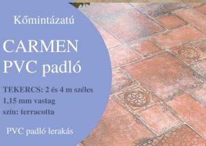 Carmen PVC padló felújítás és új lerakás Budapest és Pest megye