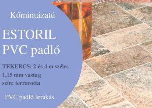 Estoril PVC padló lerakás Budapesten