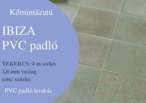 Ibiza PVC padlo lerakás Budapest és Pest megye vonzáskörzetében