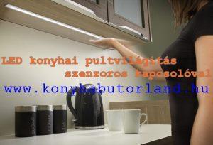 konyha munkapult led világítás. Hosszabb élettartam kis ráfordítással. Alacsony energiafogyasztás.