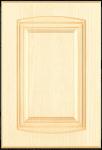 Mdf alapon, antikolt vákuumfóliás konyhabútor ajtófront vanília színben