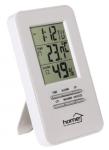 Pára és hőmérsékletmérő digitális óra